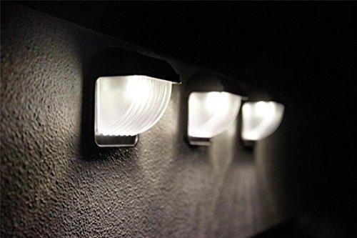 Luxform Ipsos Applique Murale Solaire LED Noir