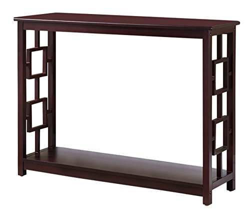 Kings Brand Furniture Pellegrino Console Table, Cherry
