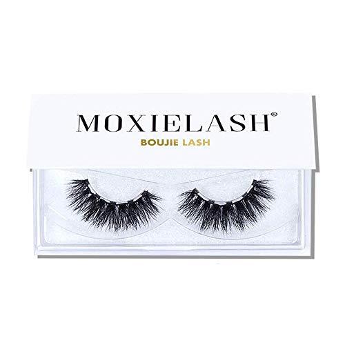 MoxieLash - Boujie Lash - Set of Premium Magnetic Eyelashes - Full-Drama Volume - Mink Lashes for Deep-Set and Almond Eye-Shapes