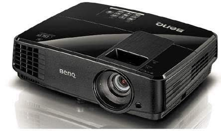 (Renewed) BenQ MS506p DLP Projector with HDMI to VGA Converter