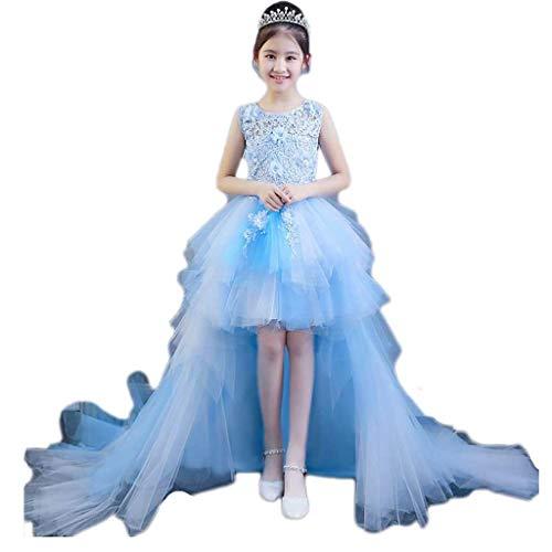 Conciso Traje del funcionamiento de los niños del vestido de la princesa...