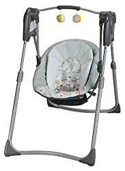 Graco Slim Spaces Compact - Best Baby Swing for Reflux