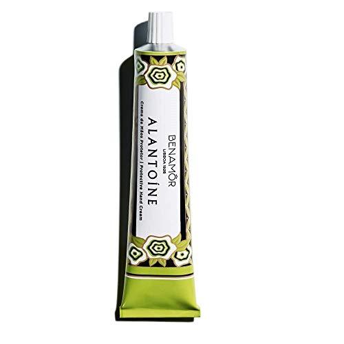 Benamôr - Crema protectora de manos con alantoína y glicerina - Extracto de limón orgánico - Fragancia de limón - Crema de manos icónica Benamôr - Libre de parabeno y vegano - Tubo de 50ml.