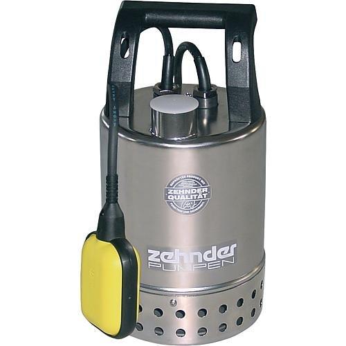 Zehnder Pumpen–16920Schmutzwassertauchpumpe Edelstahl Schmutzwasserpumpe Hochwasser Flut 65KS 9500L/H