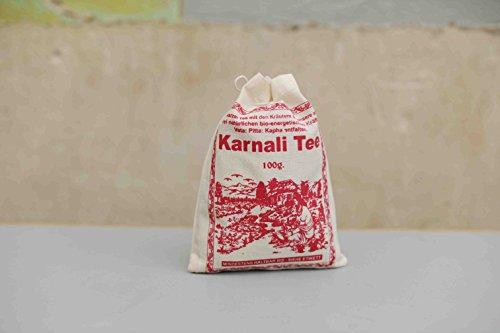 Karnali Tee Schwarzer Tee mit Ayurvedische Kräuter Vata Pitta Kaph Tee aus Nepal | Schwarzer Tee mit Kräutermischung | Black Tea with Herbs | 100g