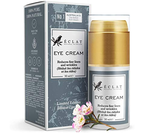 𝗢𝗥𝗚𝗔𝗡𝗜𝗖 Eye Cream - 3X MORE POTENT ENCAPSULATED VITAMIN E Anti-Ageing with...