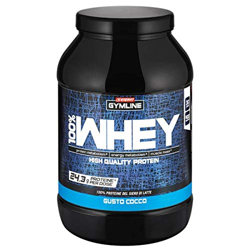 Enervit Gymline Muscle 100% Whey Protein Concentrate Cocco 900 gr