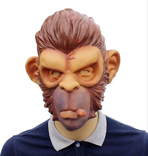 tytlmaske Mascarilla de Gorila Grand Theft, máscara de látex Beast...