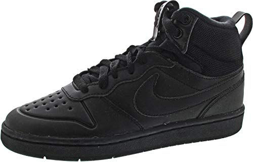 Nike Unisex-Kinder Court Borough Mid 2 Boot (GS) Sneaker, Braun (Wheat/Wheat-Gum Medium Brown), 36 EU