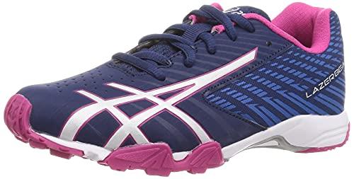 [アシックス] 運動靴 LAZERBEAM SG 21 秋冬 キッズ 400(ネイビーブルー/シルバー) 21.5 cm