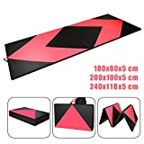 CCLIFE 4-Folding 5cm thickness Gymnastics Mats Gym Exercise Workout Fitness Foam Mats