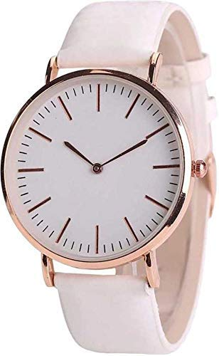 Watch City Analogue Women's Watch (White Dial White Colored Strap)