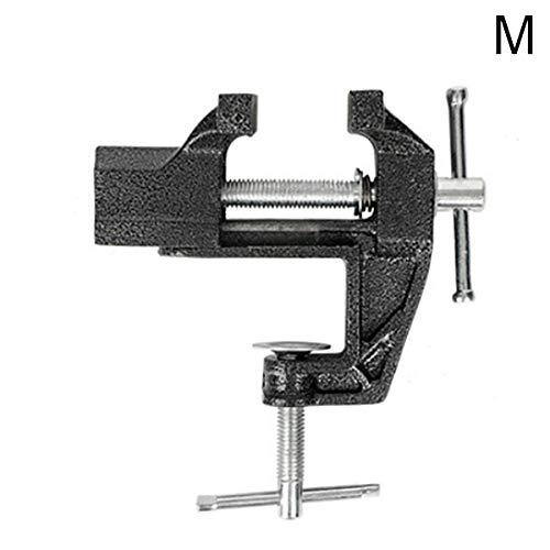 Sansund Multifunktions-Schraubstock für Tische, drehbar, Schrauben, Schraubstock für Heimwerker, Bastelarbeiten, Reparaturwerkzeug