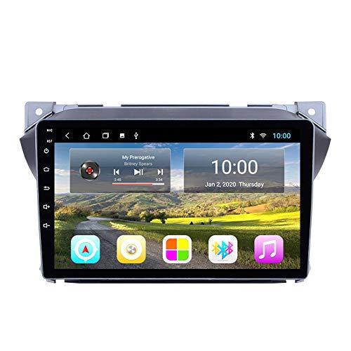 Benature Android Car Sat Nav para Suzuki Alto 2009-2017 Unidad Principal Sistema De Navegación GPS SWC 4G WiFi BT USB AUX Radio Mapa Dispositivo De Navegador Satelital
