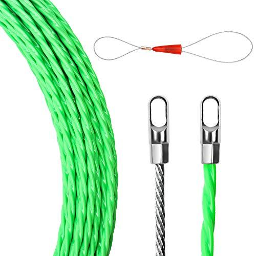 Guia Pasacables,Guia Pasacables Trenzada 4mm,Guia Cables,Kit de Enhebrado de Cables,Guia Pasacables Profesional,Enhebrador...
