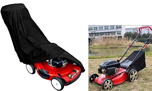 Grasmaaier Cover, een tuin Mower Storage Cover, Grasmaaier Sun Protection waterdichte hoes, 190T + PU Silver Coated Duurzame Wear Cover