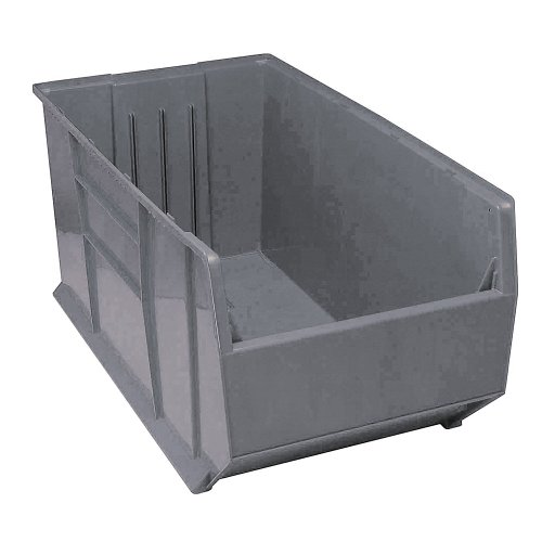 Quantum Storage Systems QRB206GY Pallet Rack Bin 41-7/8-Inch by 19-7/8-Inch by 17-1/2-Inch, Gray