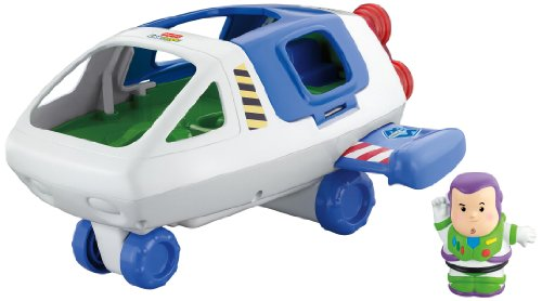 Fisher-Price Little People Disney's Story Buzz Lightyear Space Ship