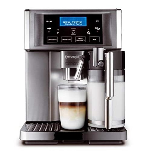 41htldX FgL. SS500  - De'Longhi Prima Donna Avant ESAM6700 15 Bar Bean to Cup Espresso and Cappuccino Machine - Stainless Steel