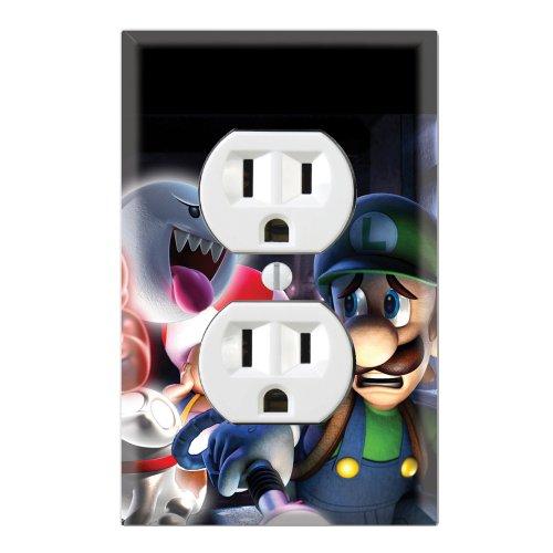Duplex Wall Outlet Plate Decor Wallplate - Super Mario Luigi's Mansion