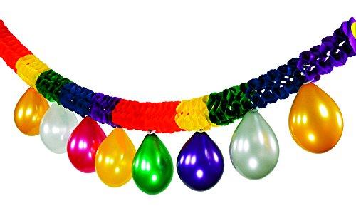 Tifany 8013396.0 Guirlande de Ballon Multicolore