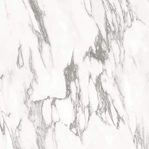 FloorPops FP3329 Opaline Peel & Stick Peel and Stick Floor Tiles, White