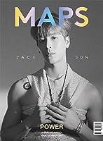 韓国雑誌 MAPS(マップス) 2021年 3月号 (GOT7のジャクソン表紙 A TYPE/ユン・ソビン、LIMKIM、woo!ah!のナナ&ウヨン記事) ★★Kstargate限定★★
