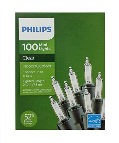 Philips 100 Mini Lights Clear