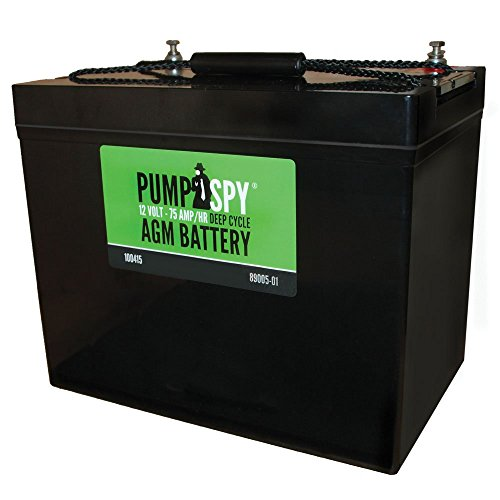 PumpSpy - Maintenance Free AGM Battery for Sump Pumps