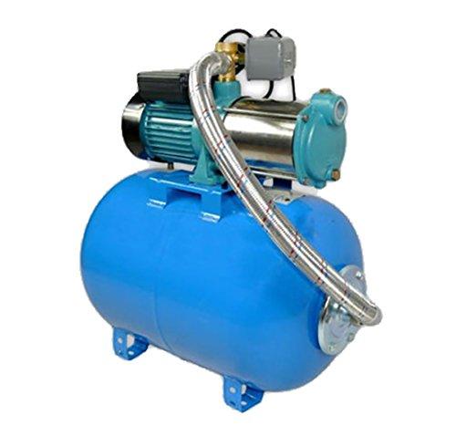 Pompe d'arrosage POMPE DE JARDIN pour puits 1300W 100L/min avec ballon surpresseur 100L
