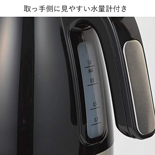 Delonghi(デロンギ)『アクティブシリーズ電気ケトル(KBLA1200J)』