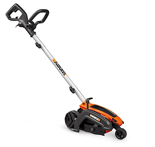WORX WG896 12 Amp 7.5' Electric Lawn Edger & Trencher, 7.5in, Orange and Black