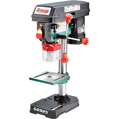 "Grizzly Industrial G0925 - 8"" Baby Benchtop Drill Press"