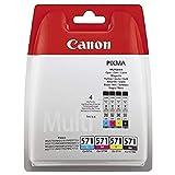 Canon 0386C004 CLI-571 C/M/Y/BK MULTI BL SEC, Inkcartridge Blister