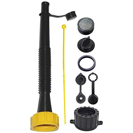 """Kool Products Super Long 11"""" Flexible Spout with Tons of Accessories - 1 Spout & Lot of Accessories."""