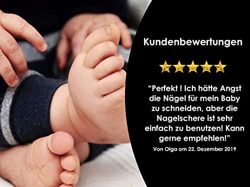 Profi Nagelschere Baby-Nagelschere mit abgerundeten Enden aus Edelstahl - 5