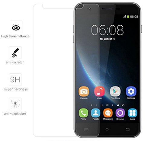 Tumundosmartphone Protector Cristal Templado para OUKITEL U7 Plus 4G Vidrio