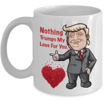 N\A Taza Divertida de Trump Husband - Eres el Mejor Esposo. Taza de café de Regalo de 11 oz