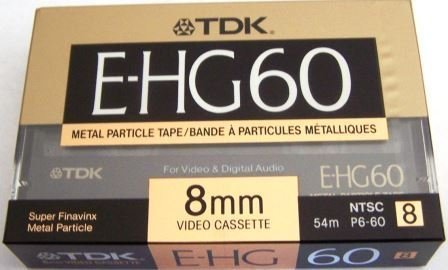 Why Choose TDK E-HG 60 8mm Video Cassette