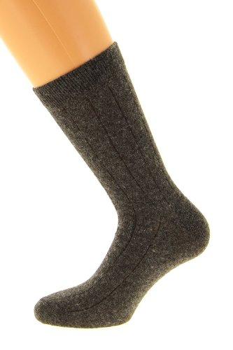 Chaussettes fil d'Ecosse (45/47, gris fumé)