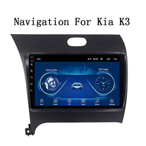 WY-CAR Android 8.1 Navegación GPS Radio TV, Radio De Coche con Pantalla Táctil De 9 Pulgadas, para KIA K3 2013-2017, con Control De Volante Dab CD DVD Bluetooth USB AUX Mirror Link