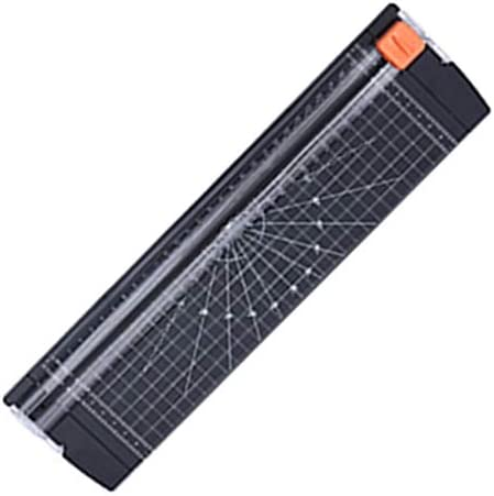 Ajing 12 inch papier trimmer gesneden verstelbare hoek lichtgewicht efficinte A4 formaat papier snijder met automatische beveiliging beveiliging voor coupon ambachtelijke papier en foto