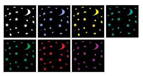 KazVICKS気化式加湿器【天井に七色の星が映る】MODELV3700