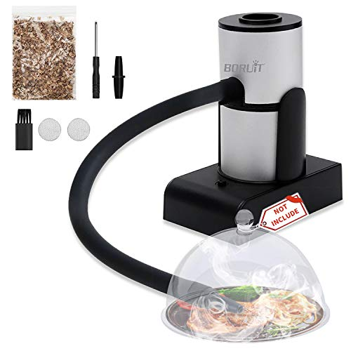 Smoking Gun, Cocktail Smoker, Portable Handheld Smoke Infuser with Wood Chips Enhance Taste for Bar BBQ Drinks Cooking Meat Cheese Cocktails Steak Vegetable Salad