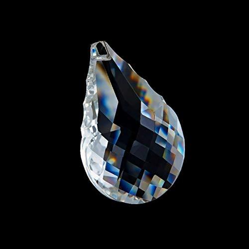 ACEACE 38mm-76mm Suncatcher Crystal Gourd Facettierter Kronleuchter Anhänger Prisma Hängende Verzierung Fengshui XMS Lampenteil (Color : 38mm 10pcs)