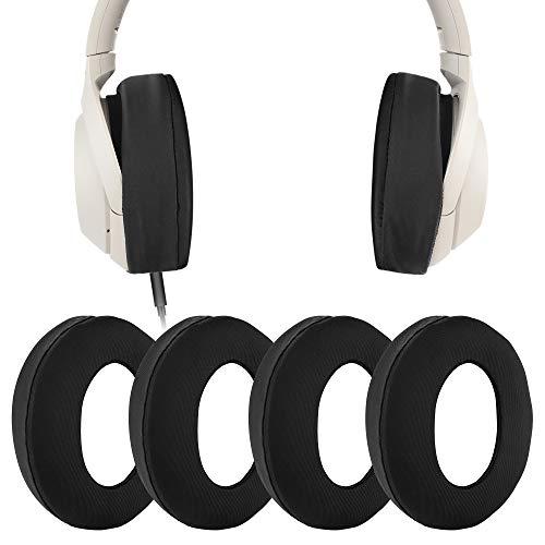 Geekria 2 Pares Ice Silk Fundas elásticas para Auriculares Sanitarios Lavables S0NY WH-1000XM4, WH-1000XM3, Studio 3.0 inalámbricos, Studio 2.0 y la mayoría de los Auriculares de 8~11 cm