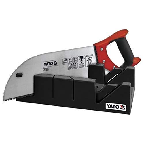 YATO YT-3150-Boîte à onglets en plastique avec queue d'aronde A 250 mm