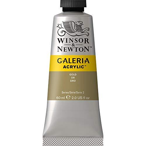 Oferta de Winsor & Newton Galería - Pintura Acrílica , 60 ml, Dorado (Gold)