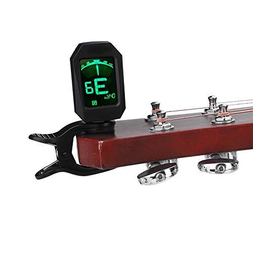 Afinador, Sintonizador LCD Digital Recargable Con Clip Para Principiantes Para Todos Los Instrumentos