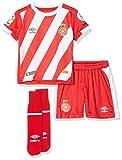 Girona F.C. 90088 Minikit 1ª Equipación, Unisex bebé, Rojo, Bebé